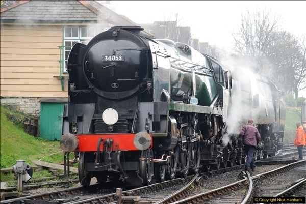 2017-03-31 The Swanage Railway Strictly Bulleid Gala.  (69)069