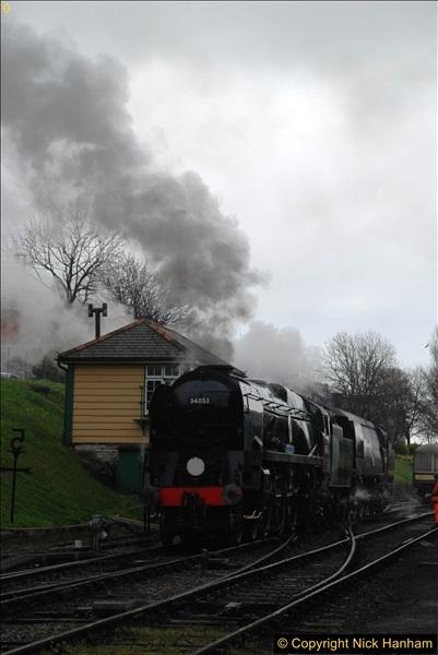 2017-03-31 The Swanage Railway Strictly Bulleid Gala.  (71)071