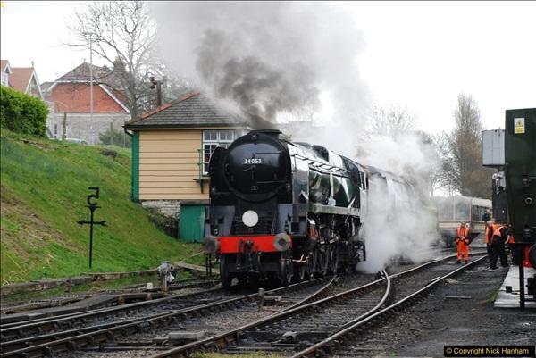2017-03-31 The Swanage Railway Strictly Bulleid Gala.  (72)072