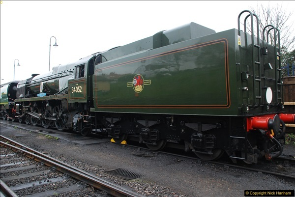2017-03-31 The Swanage Railway Strictly Bulleid Gala.  (74)074