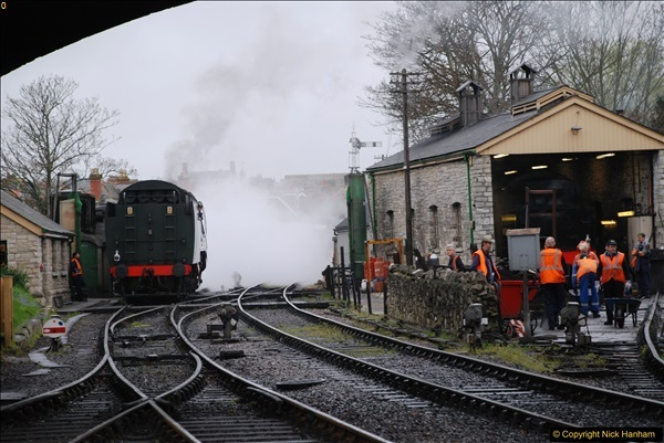 2017-03-31 The Swanage Railway Strictly Bulleid Gala.  (76)076