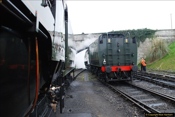 2017-03-31 The Swanage Railway Strictly Bulleid Gala.  (77)077