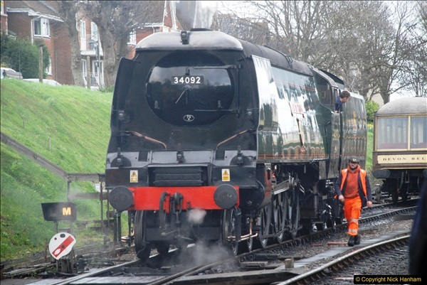 2017-03-31 The Swanage Railway Strictly Bulleid Gala.  (78)078
