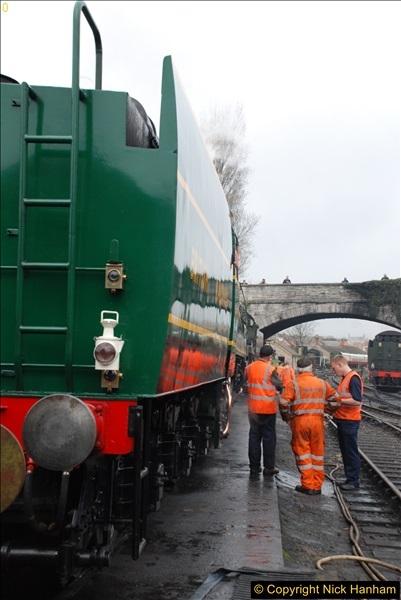 2017-03-31 The Swanage Railway Strictly Bulleid Gala.  (85)085