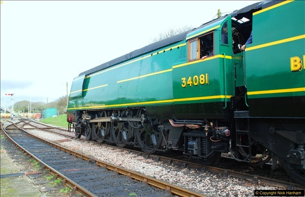 2017-03-31 The Swanage Railway Strictly Bulleid Gala.  (163)163