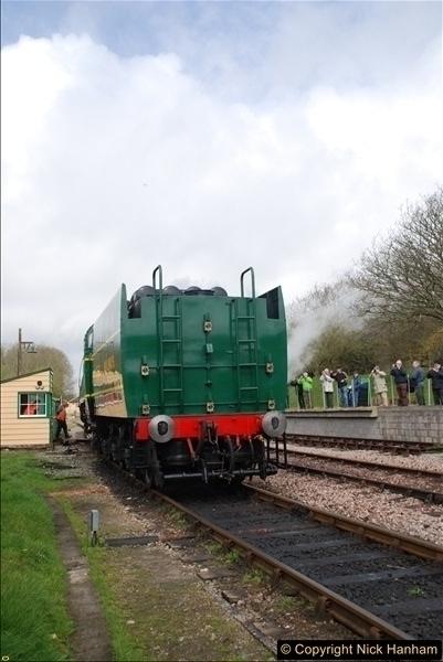 2017-03-31 The Swanage Railway Strictly Bulleid Gala.  (164)164