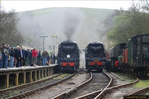 2017-03-31 The Swanage Railway Strictly Bulleid Gala.  (168)168