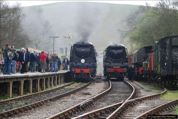2017-03-31 The Swanage Railway Strictly Bulleid Gala.  (169)169