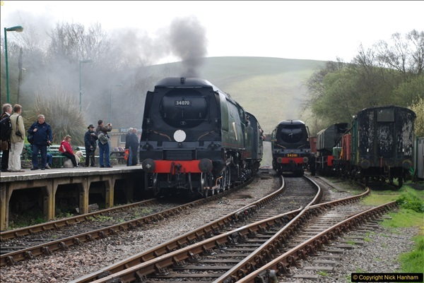2017-03-31 The Swanage Railway Strictly Bulleid Gala.  (170)170