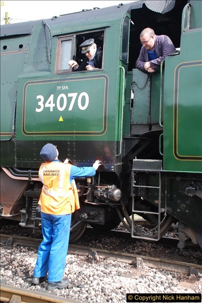2017-03-31 The Swanage Railway Strictly Bulleid Gala.  (174)174