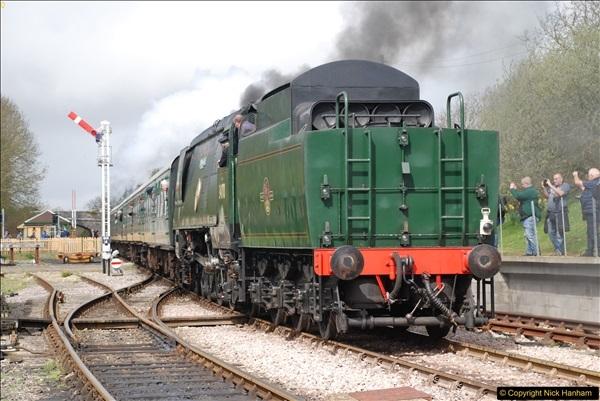 2017-03-31 The Swanage Railway Strictly Bulleid Gala.  (193)193