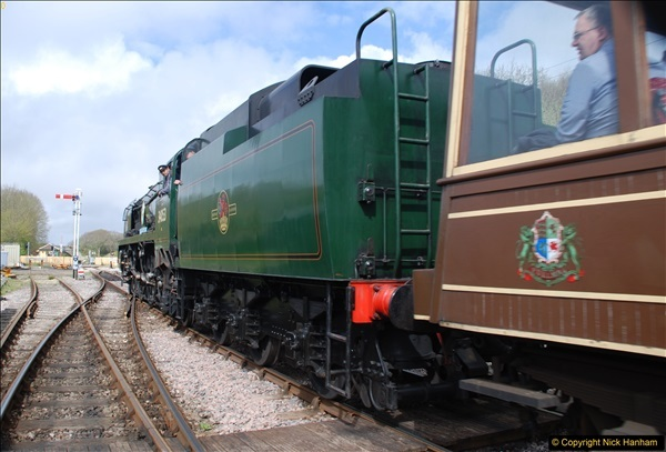 2017-03-31 The Swanage Railway Strictly Bulleid Gala.  (199)199