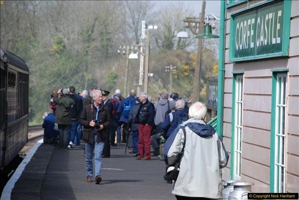 2017-03-31 The Swanage Railway Strictly Bulleid Gala.  (218)218