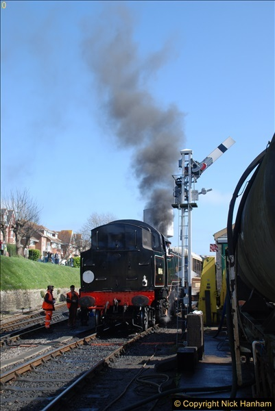 2017-03-31 The Swanage Railway Strictly Bulleid Gala.  (242)242