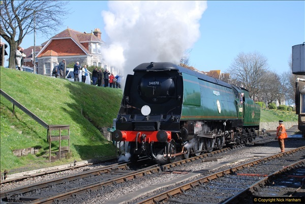2017-03-31 The Swanage Railway Strictly Bulleid Gala.  (244)244