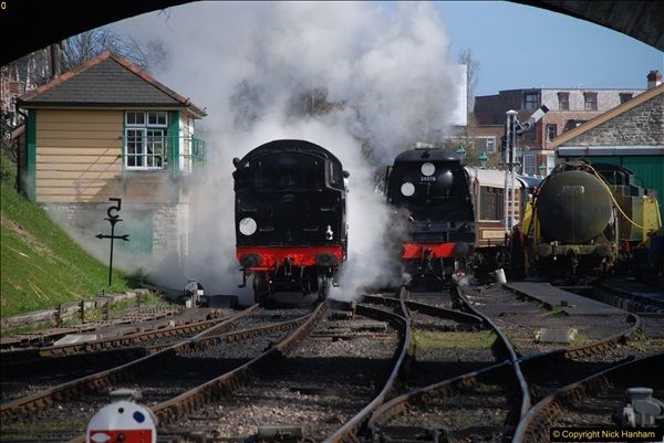 2017-03-31 The Swanage Railway Strictly Bulleid Gala.  (256)256