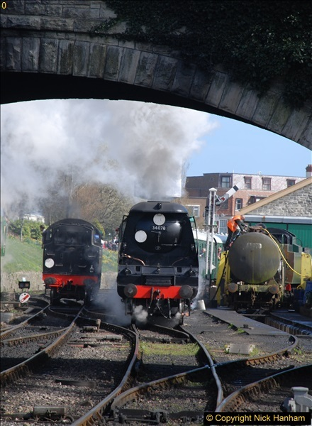 2017-03-31 The Swanage Railway Strictly Bulleid Gala.  (257)257