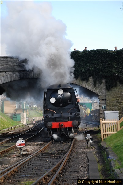 2017-03-31 The Swanage Railway Strictly Bulleid Gala.  (258)258