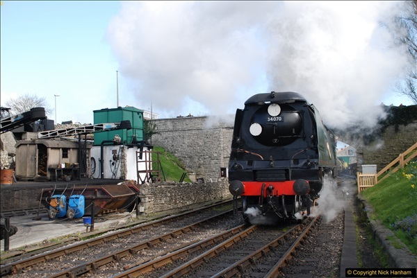 2017-03-31 The Swanage Railway Strictly Bulleid Gala.  (260)260