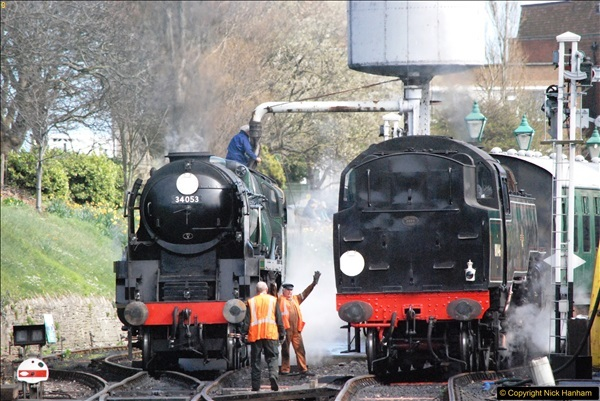 2017-03-31 The Swanage Railway Strictly Bulleid Gala.  (265)265