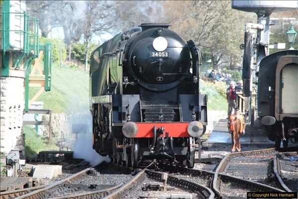 2017-03-31 The Swanage Railway Strictly Bulleid Gala.  (266)266