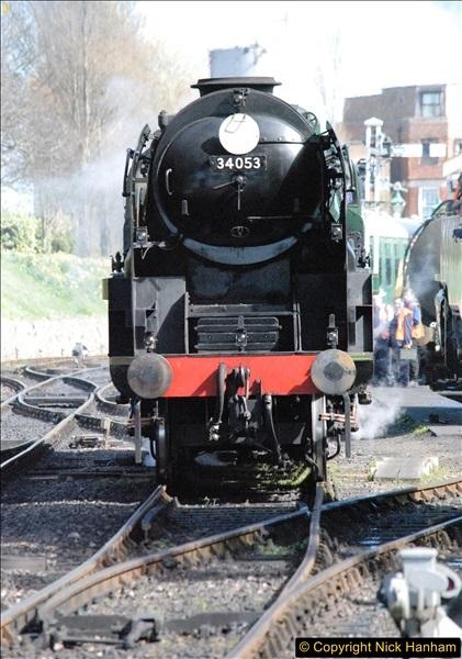 2017-03-31 The Swanage Railway Strictly Bulleid Gala.  (267)267