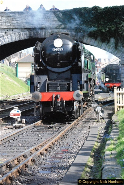 2017-03-31 The Swanage Railway Strictly Bulleid Gala.  (268)268