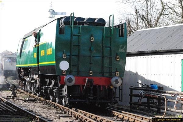 2017-03-31 The Swanage Railway Strictly Bulleid Gala.  (284)284