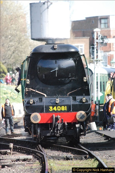 2017-03-31 The Swanage Railway Strictly Bulleid Gala.  (289)289