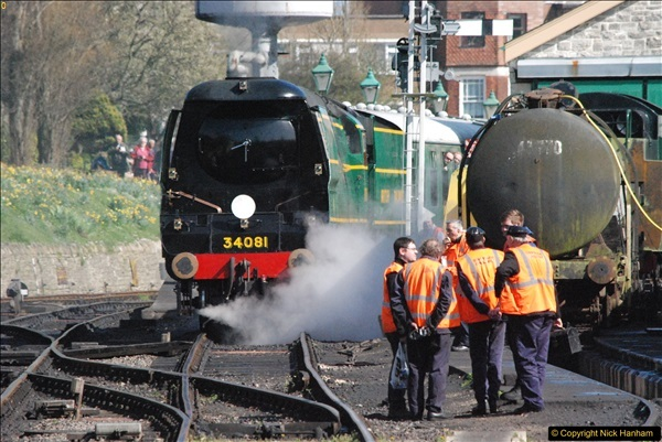 2017-03-31 The Swanage Railway Strictly Bulleid Gala.  (290)290