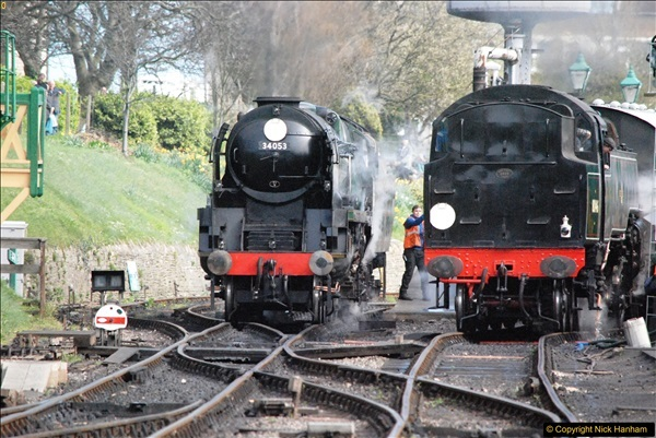 2017-03-31 The Swanage Railway Strictly Bulleid Gala.  (297)297