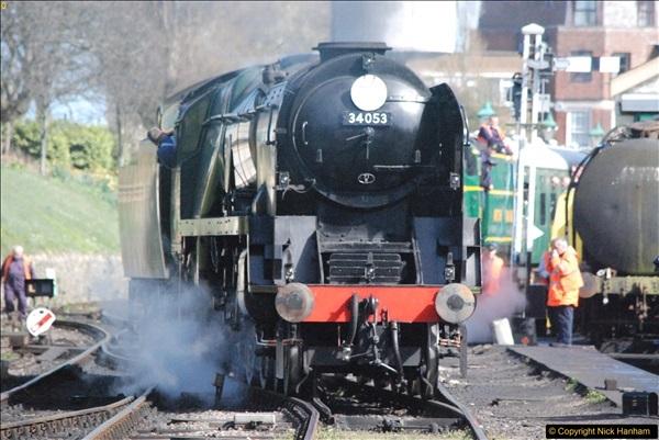 2017-03-31 The Swanage Railway Strictly Bulleid Gala.  (299)299