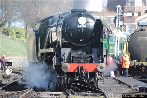 2017-03-31 The Swanage Railway Strictly Bulleid Gala.  (299)299