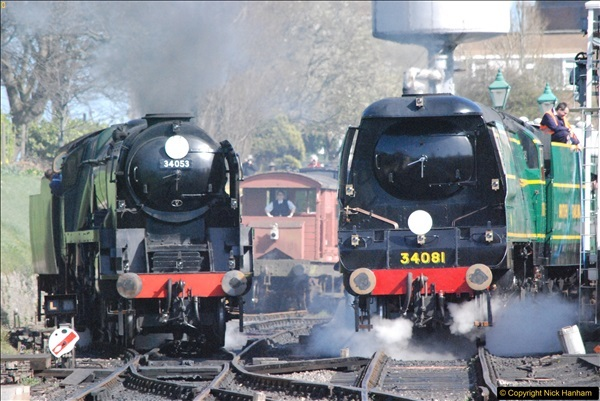 2017-03-31 The Swanage Railway Strictly Bulleid Gala.  (302)302