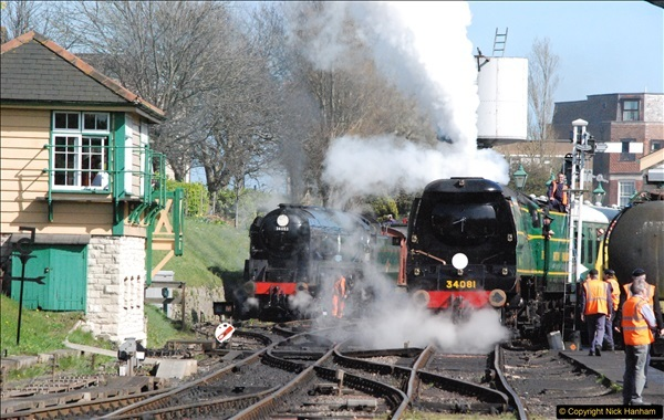2017-03-31 The Swanage Railway Strictly Bulleid Gala.  (303)303