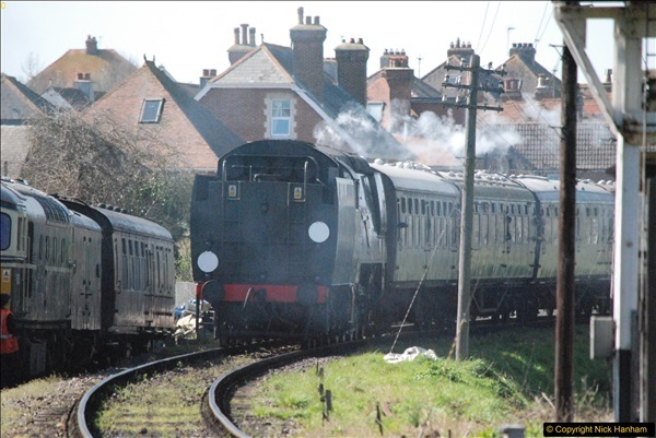2017-03-31 The Swanage Railway Strictly Bulleid Gala.  (304)304