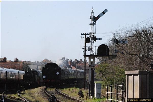 2017-03-31 The Swanage Railway Strictly Bulleid Gala.  (305)305