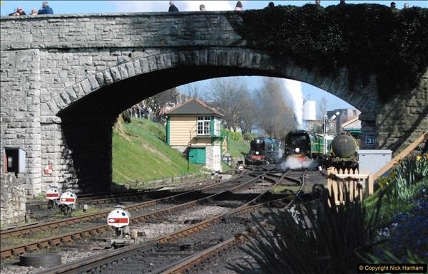 2017-03-31 The Swanage Railway Strictly Bulleid Gala.  (309)309