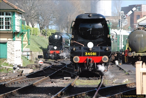 2017-03-31 The Swanage Railway Strictly Bulleid Gala.  (313)313