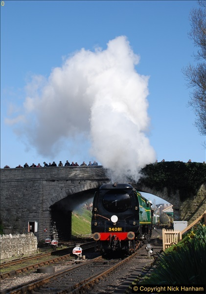 2017-03-31 The Swanage Railway Strictly Bulleid Gala.  (315)315