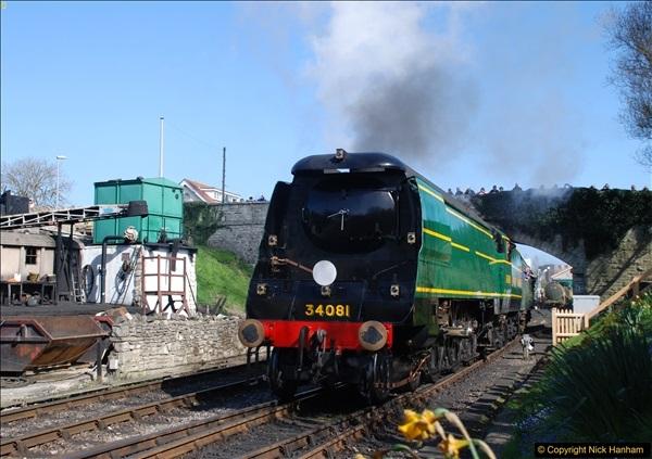 2017-03-31 The Swanage Railway Strictly Bulleid Gala.  (316)316