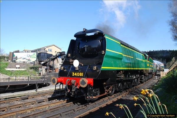 2017-03-31 The Swanage Railway Strictly Bulleid Gala.  (317)317