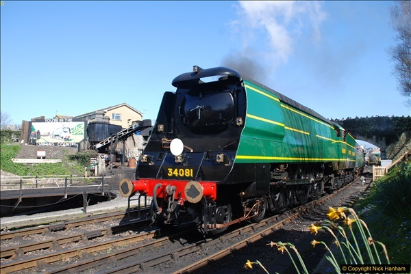 2017-03-31 The Swanage Railway Strictly Bulleid Gala.  (317)317