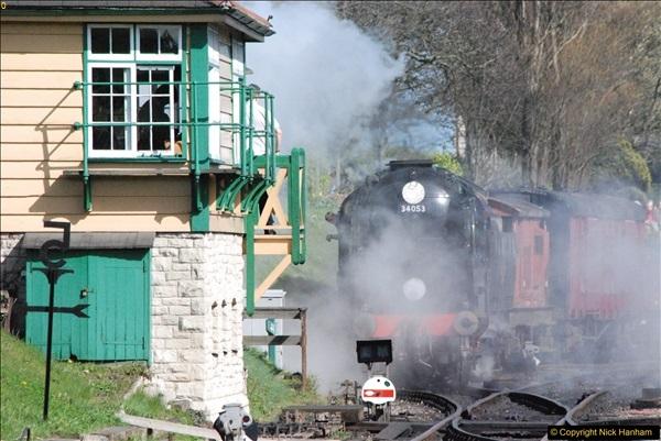 2017-03-31 The Swanage Railway Strictly Bulleid Gala.  (323)323