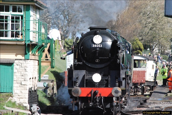 2017-03-31 The Swanage Railway Strictly Bulleid Gala.  (325)325