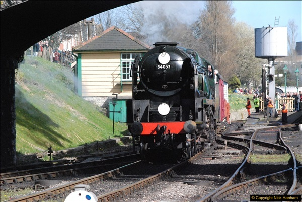 2017-03-31 The Swanage Railway Strictly Bulleid Gala.  (329)329