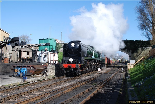 2017-03-31 The Swanage Railway Strictly Bulleid Gala.  (332)332