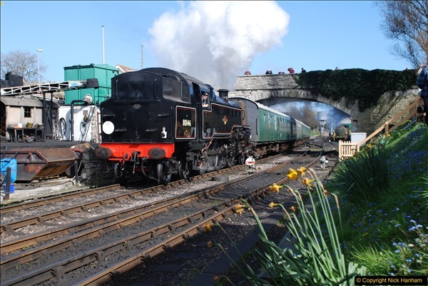 2017-03-31 The Swanage Railway Strictly Bulleid Gala.  (340)340