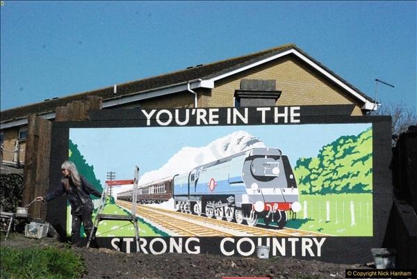 2017-03-31 The Swanage Railway Strictly Bulleid Gala.  (342)342