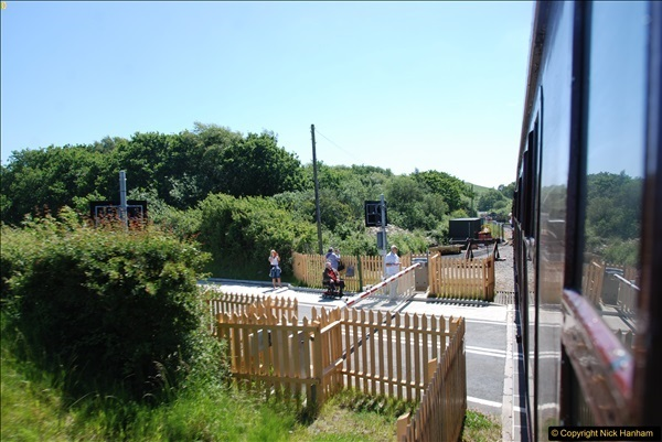 2017-06-13 SR first return service Swanage - Warehan - Swanage.  (181)181